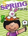 Here are five hats, in color and b/w, to make and wear to celebrate Spring.