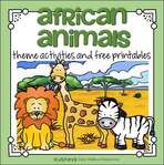 African Animals theme activities