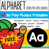 Free 62 page printables set to learn all about the letter Aa