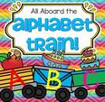 The Alphabet Train is a colorful and engaging alphabet learning center with lots of ways to play