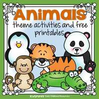 Animals theme activities