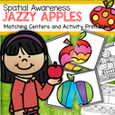 Matching center and activity printables - spatial awareness.