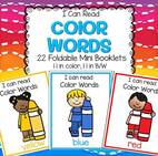 Color Names 24 foldable booklets