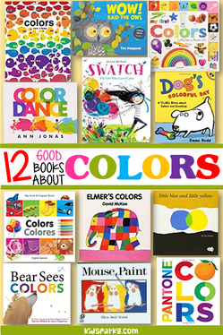 Books about colors for preschool and kindergarten
