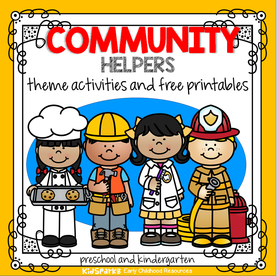 Community helpers free activities and printables