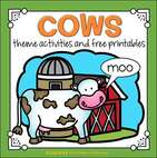 Cows theme activities