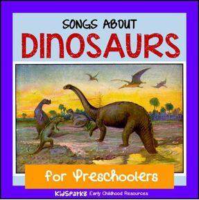 Dinosaurs  songs and rhymes for preschool