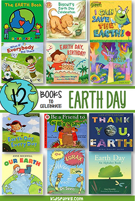Earth Day recommended books for preschool and kindergarten