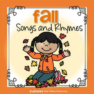 songs and rhymes about fall for preschool