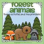 Forest Animals theme activities
