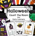 Halloween Count the Room activity