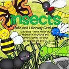 Comprehensive set of printables with an Insects, or Bugs, theme - make hands-on, interactive activities and learning centers for your preschool and pre-K classroom.
