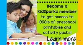 Become a KidSparkz member to access thousands of centers, activities and printables