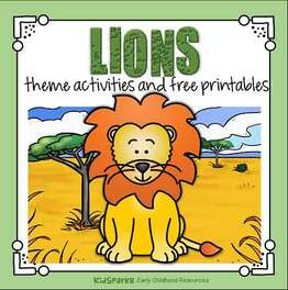Lions theme activities