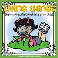 Living things theme activities
