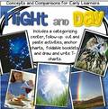 Day and Night - Concepts and Comparisons. preschool pack