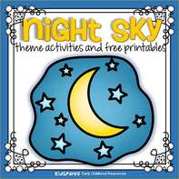 Night sky theme activities