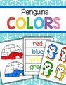 This is collection of printables to make color matching activities for preschool and pre-K featuring penguins and igloos. It is a perfect resource to use for your winter or penguins theme.