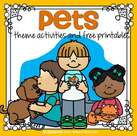 Pets theme activities