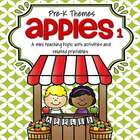 Apples theme pack for preschool and pre- k - hands-on centers and printables for preschool