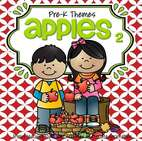 Apples theme pack for preschool and pre-K