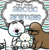 Arctic Animals - theme pack for preschool and pre-K