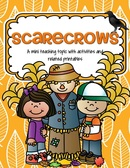 Scarecrows theme pack for preschool and pre-K