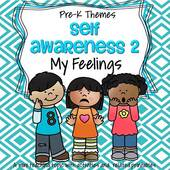 Self Awareness - My Feelings Theme - Preschool