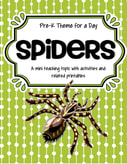 Spiders theme pack