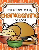 Thanksgiving theme pack for pre-k
