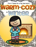 Warmth and Coziness in winter - theme pack for preschool and pre-K