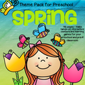 Spring Prep Pack for Preschool 116 pages