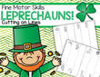 St. Patrick's Day theme cutting or tracing lines 6pgs