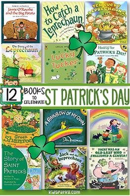 St. Patrick's Day recommended books for preschool and kindergarten