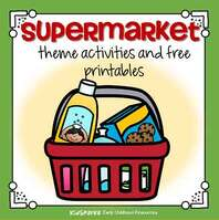 Supermrket theme activities