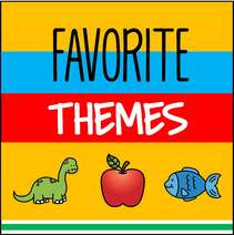 Favorite themes for preschool curriculum from KidSparkz.com