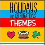 List of holiday themes from KidSparkz.com