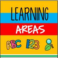 Learning areas for preschool