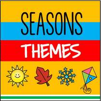 Seasons themes for preschool curriculum from KidSparkz.com