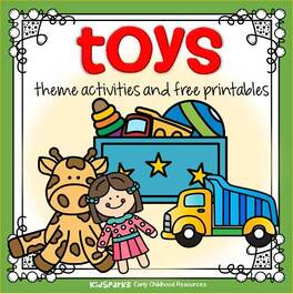 Toys theme activities and printables