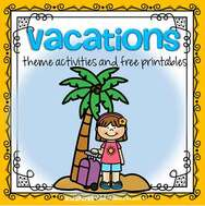 Vacations theme activities