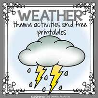 Weather theme activities