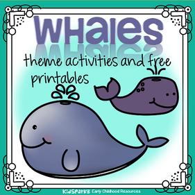 Whales theme activities and printables