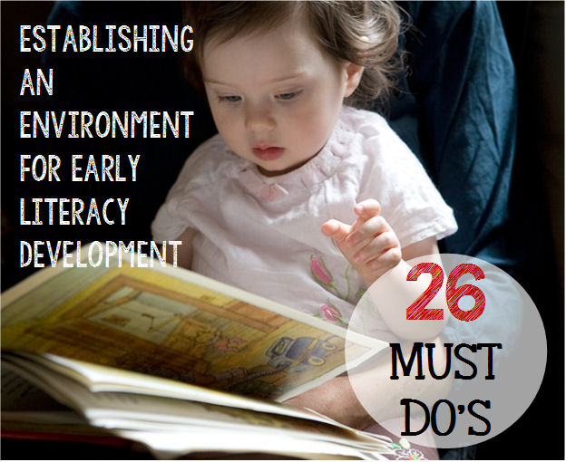 Literacy development for preschool
