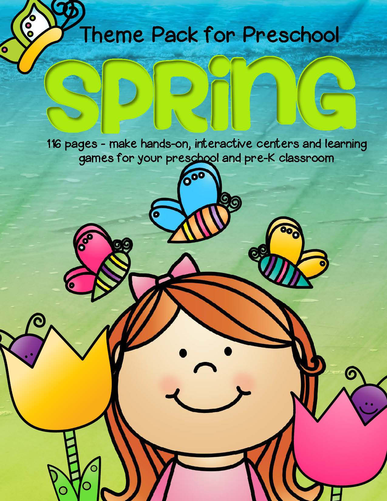 SPRING Theme Pack for Preschool