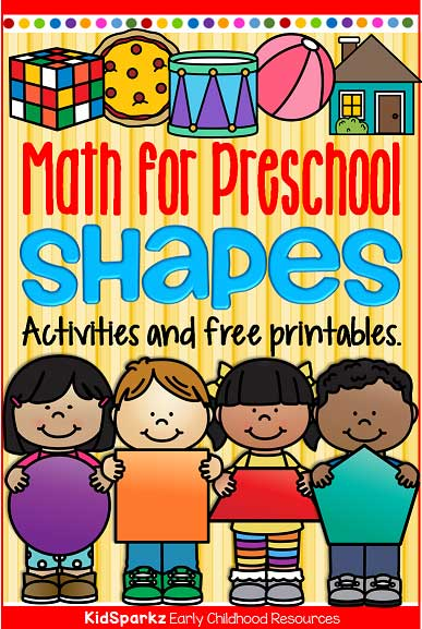 It's just a photo of Preschool Maths Activities Printable for learning