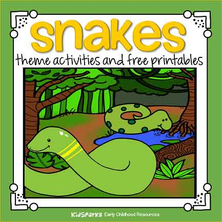 Snakes theme activities for preschool