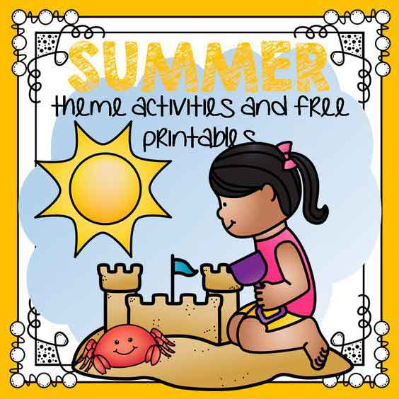 Summer theme activities for preschool and kindergarten