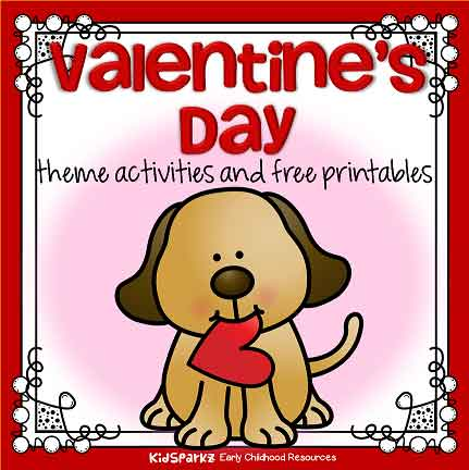 Valentine's Day preschool theme for February