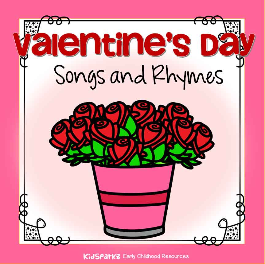 Valentine's Day songs and rhymes for preschool